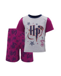 Pink Harry Potter Shorty PJ