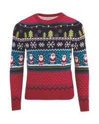 Kids Christmas Fairisle Jumper