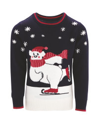 Kids Christmas Polar Bear Jumper