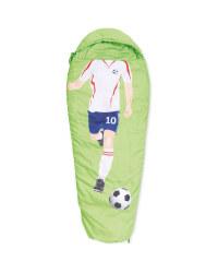 Kids' Footballer Sleeping Bag