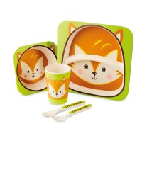 Crofton Kids Fox Dinner Set