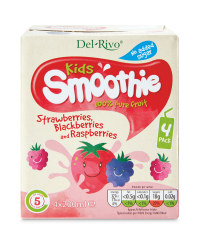 Kids Fruit Smoothie - Strawberry