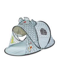 Kids' Grey Castle Play Tent