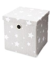 Kids Grey Storage Cube