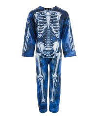 Children's Blue Skeleton Costume
