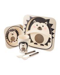 Crofton Kids Hedgehog Dinner Set