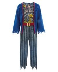 Kid's Zombie Pirate Costume