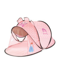 Kids' Pink Castle Play Tent