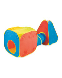 Kids' Play Tent - Red/Blue/Yellow