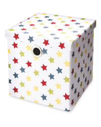 Kids White Storage Cube