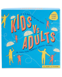 Kids Vs Adults Family Game