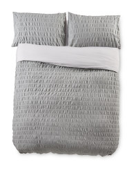 King Chambray Cotton Duvet Set