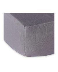 King Sized Fitted Sheet - Grey