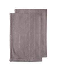 Kirkton House  Tea Towels 2 Pack - Light Grey