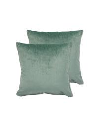 Kirkton House Cushions 2 Pack - Light Green