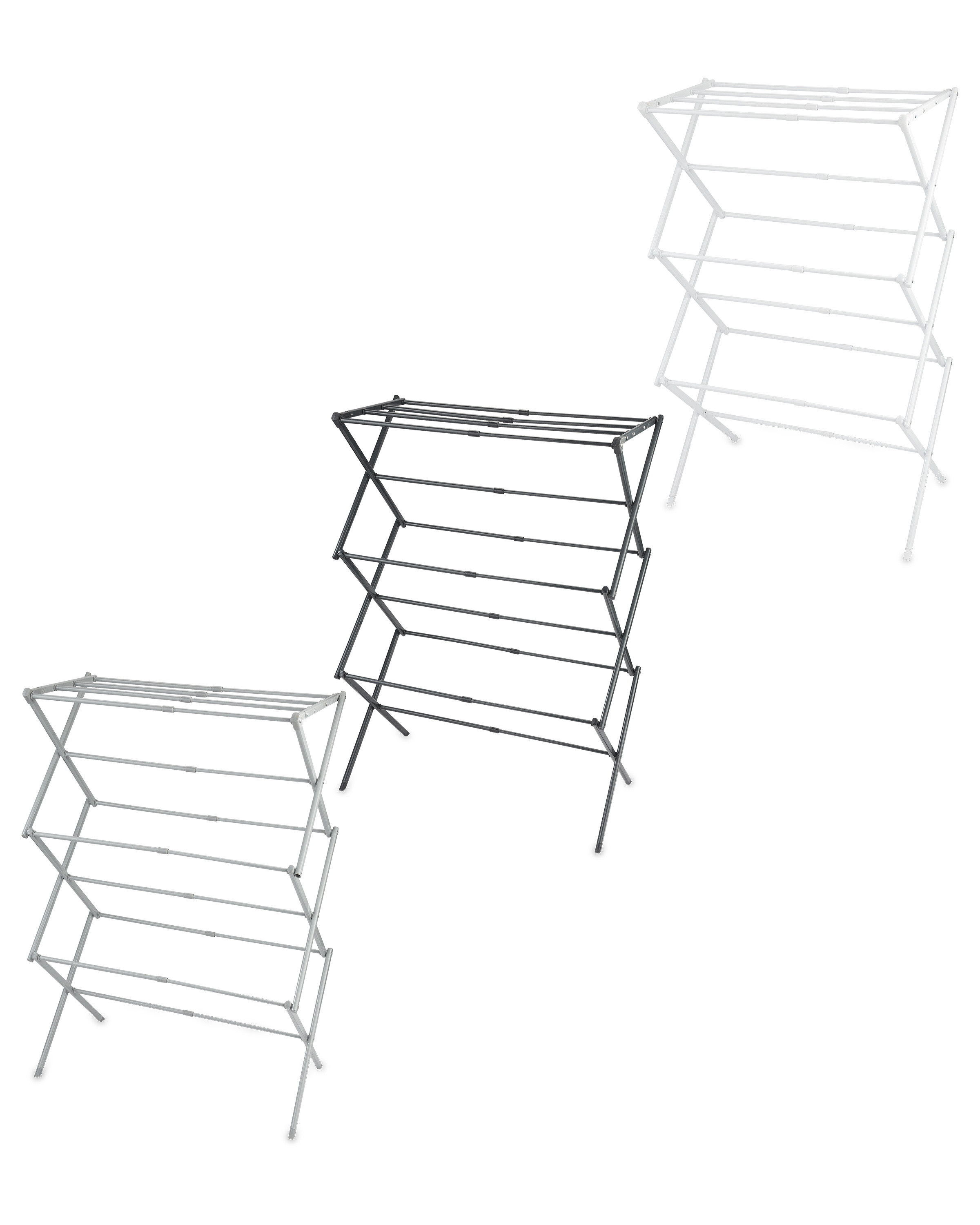 3 Tier Expanding Clothes Airer