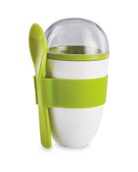 Light Green Yoghurt To Go