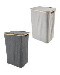 Kirkton House Bamboo Laundry Basket