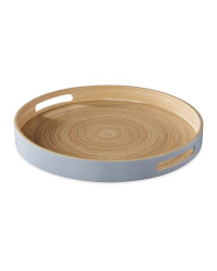 Kirkton House Bamboo Tray - Grey