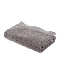 Kirkton House Bath Towel - Charcoal