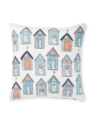 Kirkton House Beach Huts Cushion