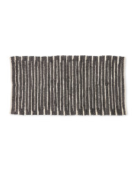 Kirkton House Beige/Black Chindi Rug