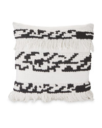 Kirkton House Black/White Cushion