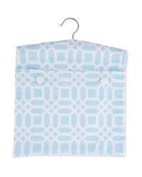 Kirkton House Blue Tile Peg Bag
