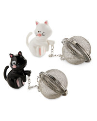 Kirkton House Cat Tea Infuser