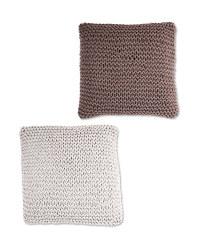 Kirkton House Chunky Knit Cushion