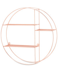 Kirkton House Circular Wire Shelf - Copper