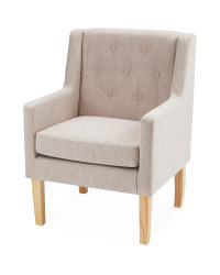Kirkton House Cream Accent Chair
