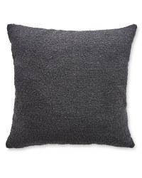 Kirkton House Bouclé Cushion 2 Pack - Pewter