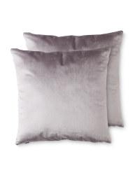 Kirkton House Cushions 2 Pack - Grey