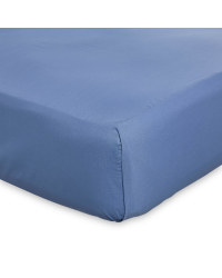 Kirkton House Double Flat Sheet - Blue