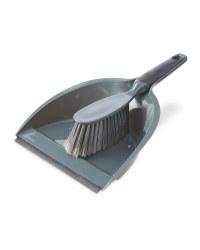 Kirkton House Dustpan & Brush - Charcoal