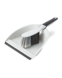 Kirkton House Dustpan & Brush - Light Grey