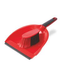 Kirkton House Dustpan & Brush - Red