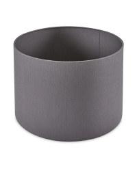Kirkton House Easy Fit Fabric Shade - Dark Grey