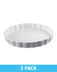 Kirkton House Flan Oven Dish - Grey