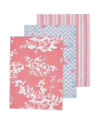 Kirkton House Floral Tea Towels Set