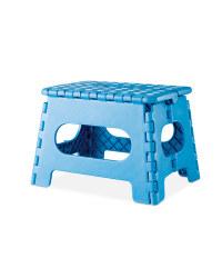 Kirkton House Folding Step Stool - Blue