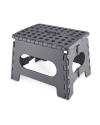 Kirkton House Folding Step Stool - Grey
