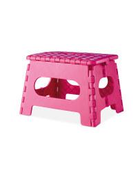 Kirkton House Folding Step Stool - Pink