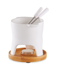 Kirkton House Fondue Set - White