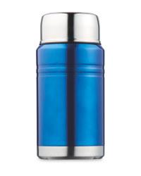 Kirkton House Food Flask - Metallic Blue