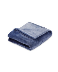 Kirkton House Graduated Throw - Blue