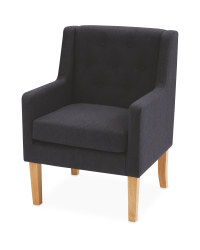 Kirkton House Grey Accent Chair