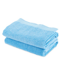 Kirkton House Hand Towels 2-Pack - Blue