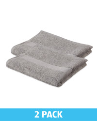 Kirkton House Hand Towels 2 Pack - Grey
